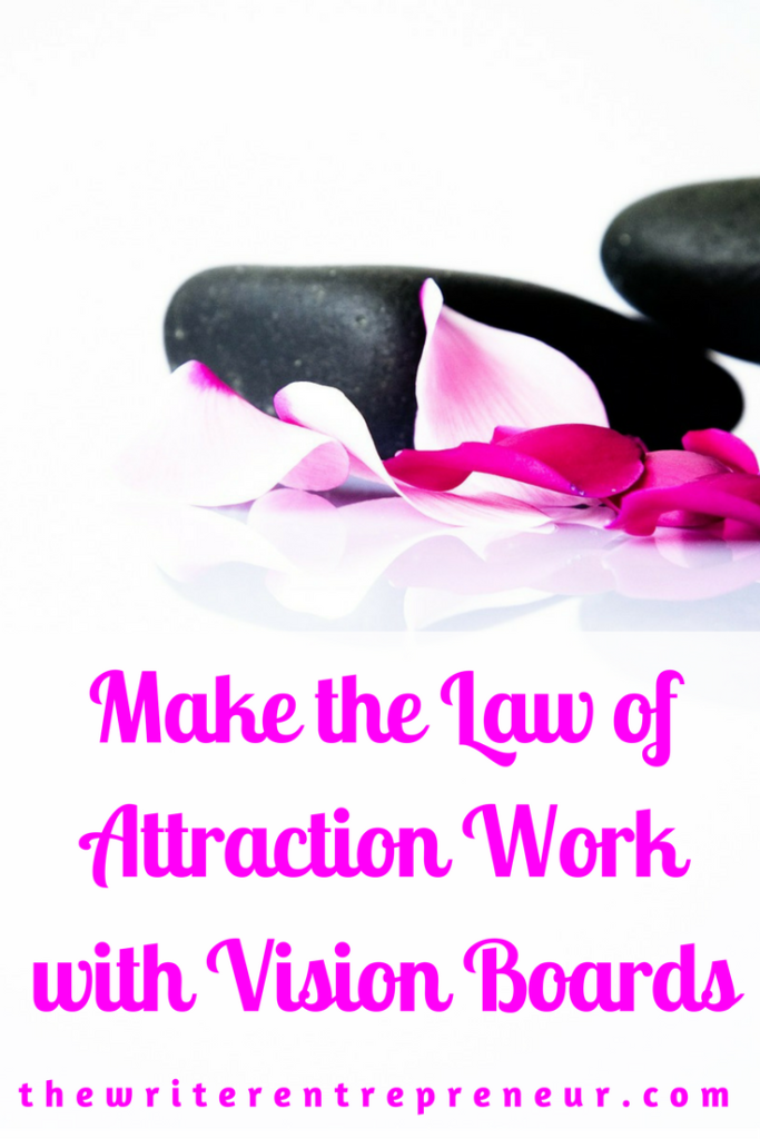 Law of Attraction with Vision Boards