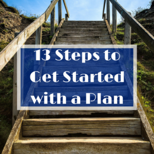 how to get started with a plan