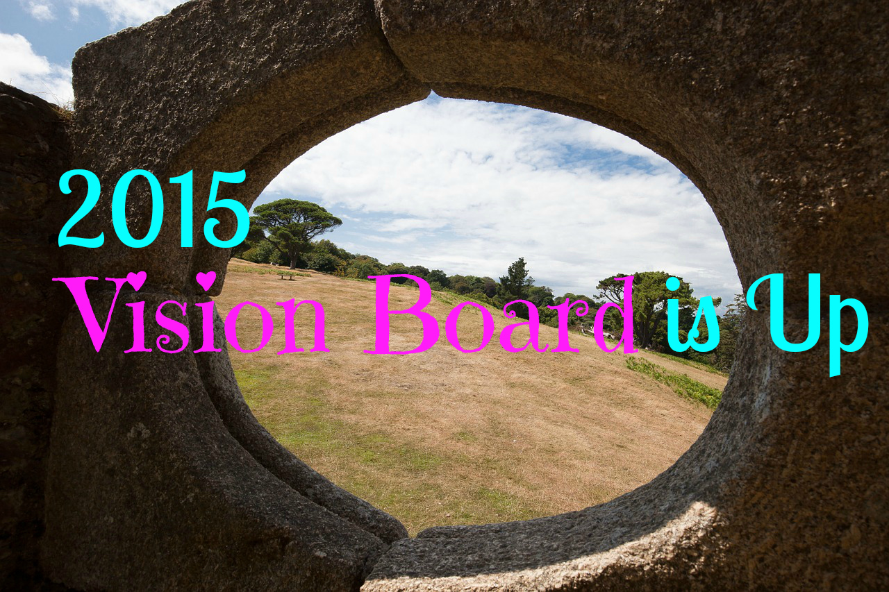 2015 Vision Board is Up