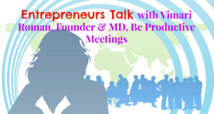 entrepreneurs talk with vimari roman