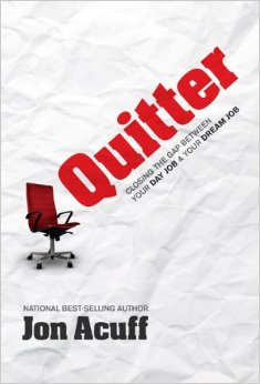 quitter by jon acuff