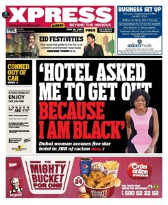 hotel in dubai apologises for racial profiling of visitor