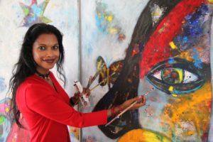 Shefali Ranthe artist in dubai