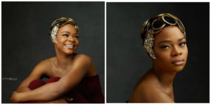 nigerian breadseller becomes a model