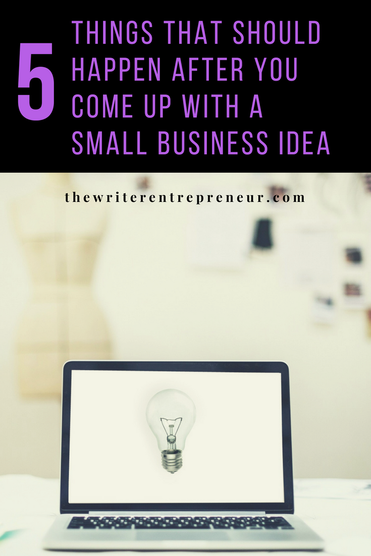 how to come up with a small business plan