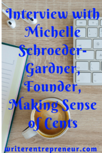 interview with making sense of cents blogger