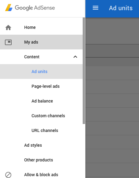 Google Adsense Program