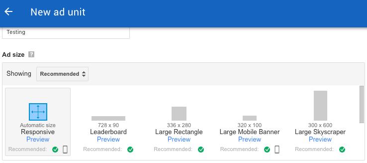 Google Adsense Earnings