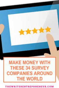 Make Money with These 34 Survey Companies Around The World