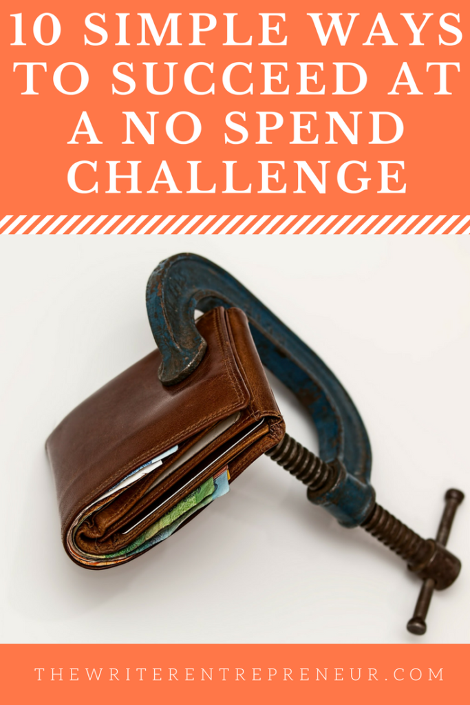 10 Ways to Succeed at a No Spend Challenge in 2018
