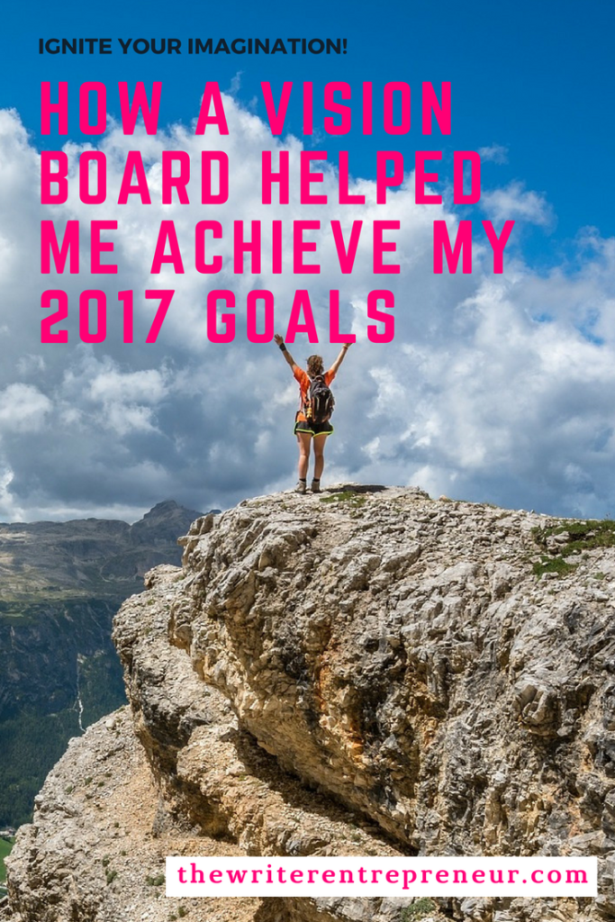 How a vision board helps me acheive my yearly goals