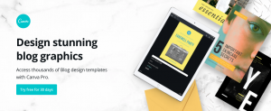 create image templates with Canva