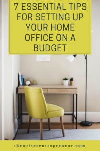 7 essential tips for setting up your home office on a budget