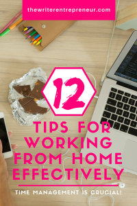 12 tips for working from home effectively