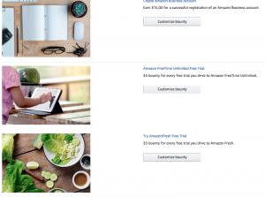 Amazon bounty program
