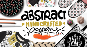 Free Abstract Handcrafted Patterns