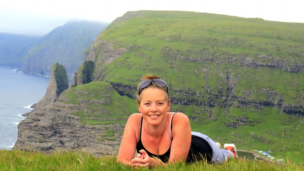 Megan at Faroe Islands