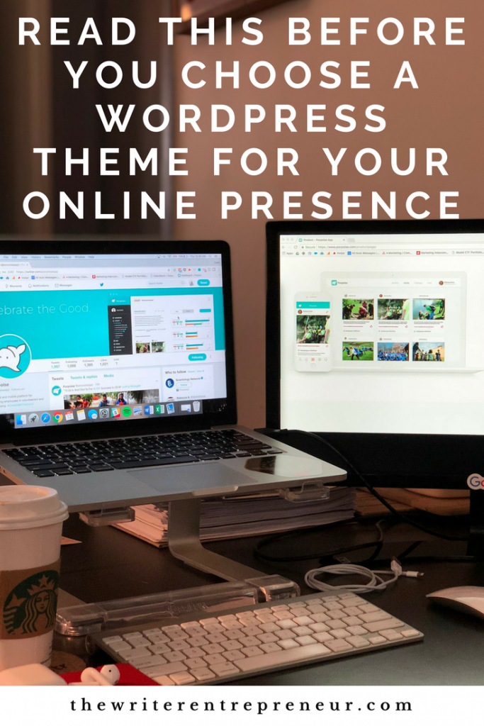 Read this before you choose a wordpress theme for your website