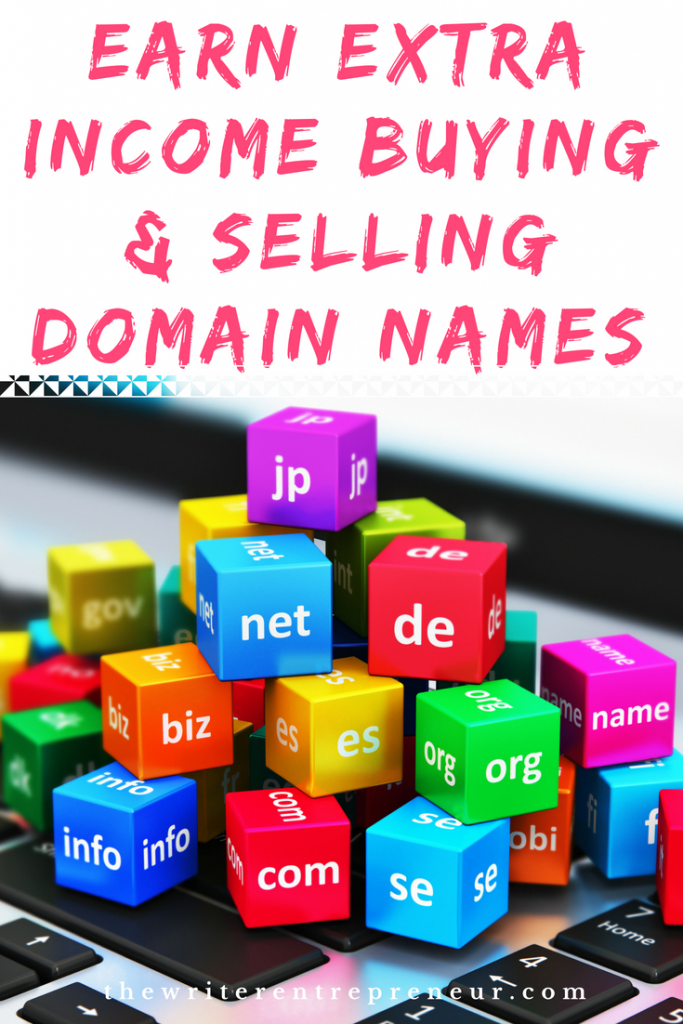 Side Hustle Ideas - Earn Extra Income Buying and Selling Domain Names