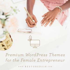 Feminine WordPress Themes for the Female Entrepreneur