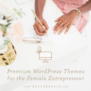 Feminine WordPress Themes for the Female Entrepreneur