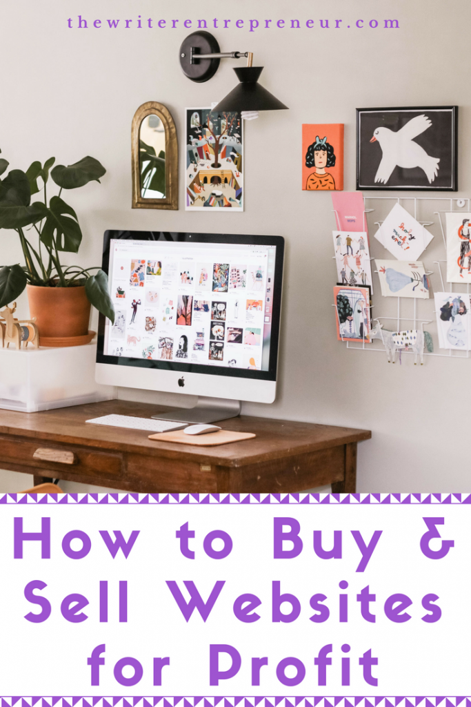 Side Hustle Ideas - Buying and Selling Websites for Profit