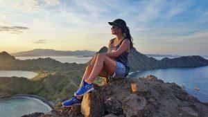 on top of padar island