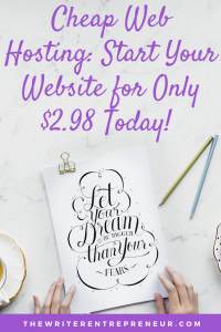Cheap Web Hosting Start Your Website for Only $2.98 Today