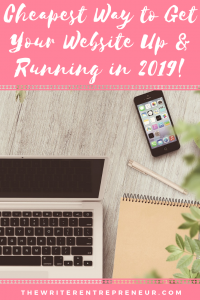 Cheapest way to get your website up and running in the new year. New year, new beginnings