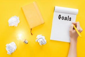 how to set goals in life and stick to them
