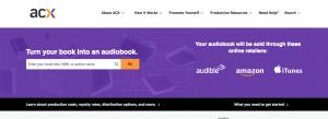 Audiobook Creation Exchange