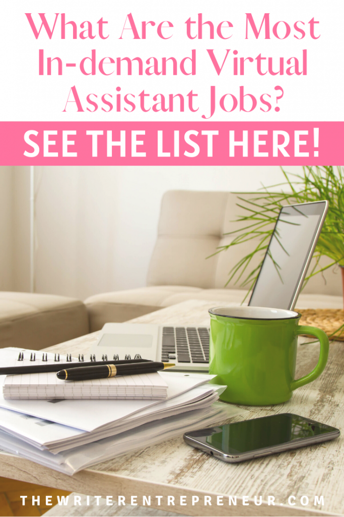 What are the most in-demand virtual assistant jobs