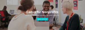 Canva for non profit organisations