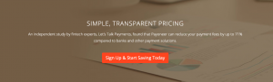Sign up with payoneer and start saving today
