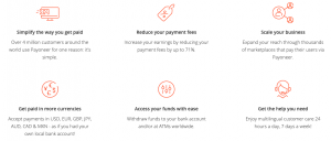 best benefits of Payoneer for small business