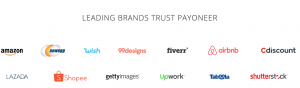 brands that trust payoneer