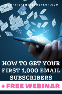 to Get Your First 1,000 Subscribers PLUS Free Webinar