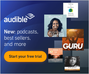 40% off Audible plus free trial
