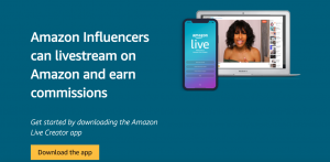 Amazon influencer app