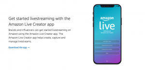Get started livestreaming with the Amazon Live Creator app