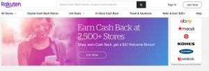 Sign up for Rakuten and get $20