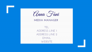TWE Business Card Front