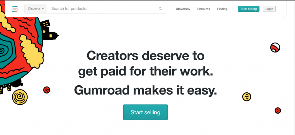 Sell digital products on Gumroad
