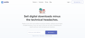 Sell digital products on Payhip