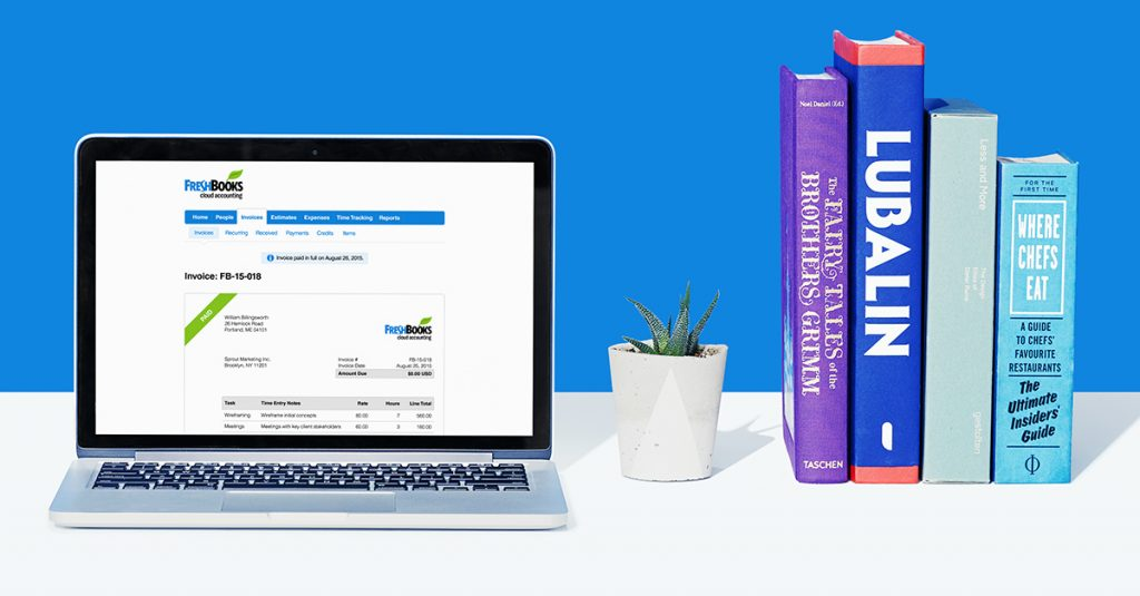 FreshBooks Cloud Accounting Software for Self-employed Professionals