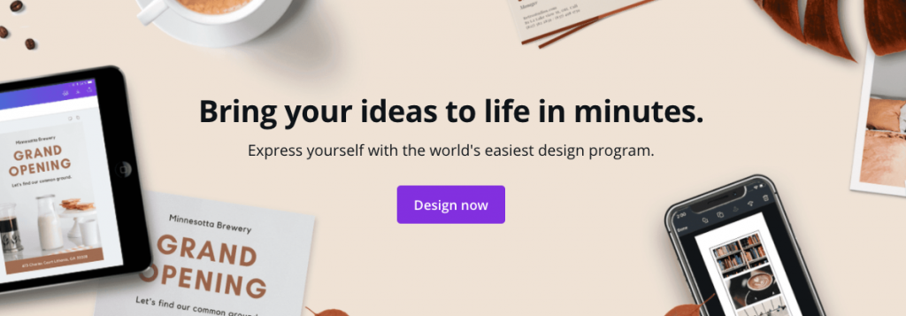 Bring your designs to life in minutes with Cana Animation