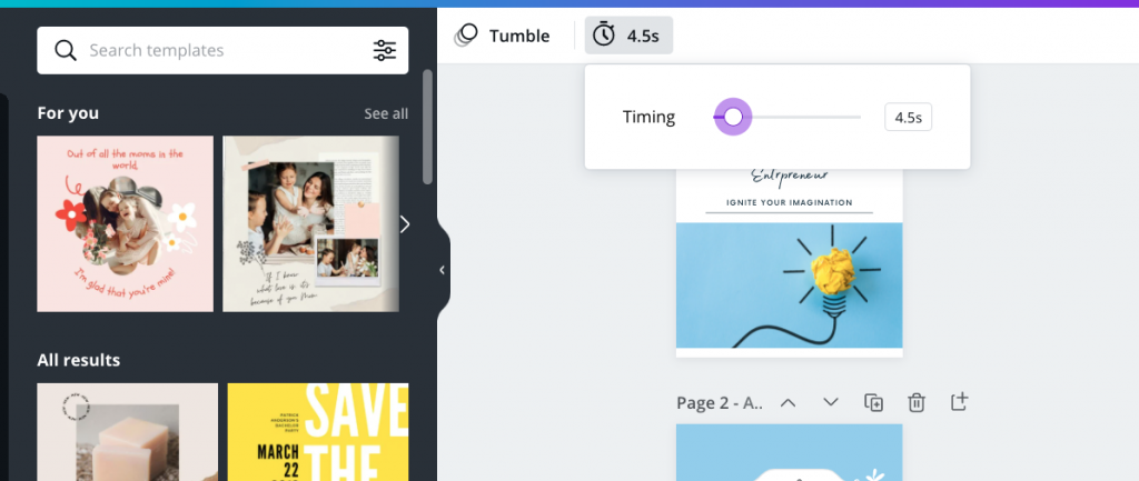 How to Make Canva Animations Slower